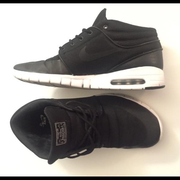 quality design 79b0c 2d5ce NIKE SB Stefan Janoski MAX Mid Shoes Size 12